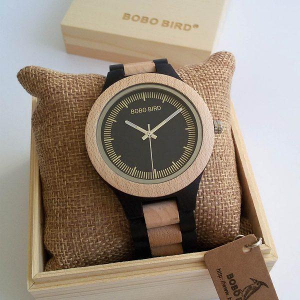 Drevené hodinky GOLF