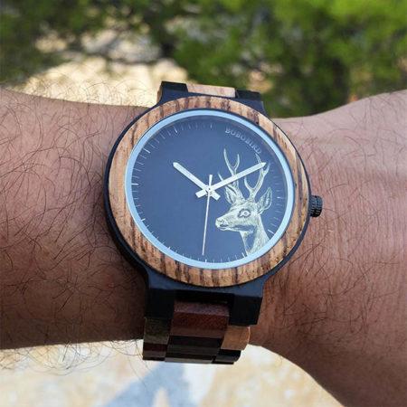 Drevené hodinky HOOD