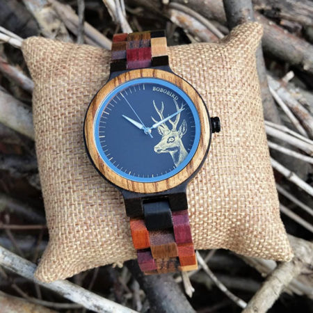 Drevené hodinky ROBIN