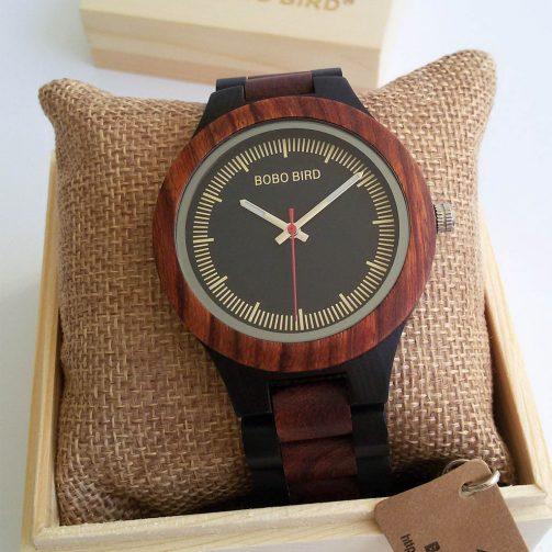 Drevené hodinky SANTAL