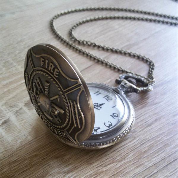 Vreckové hodinky HASIČ