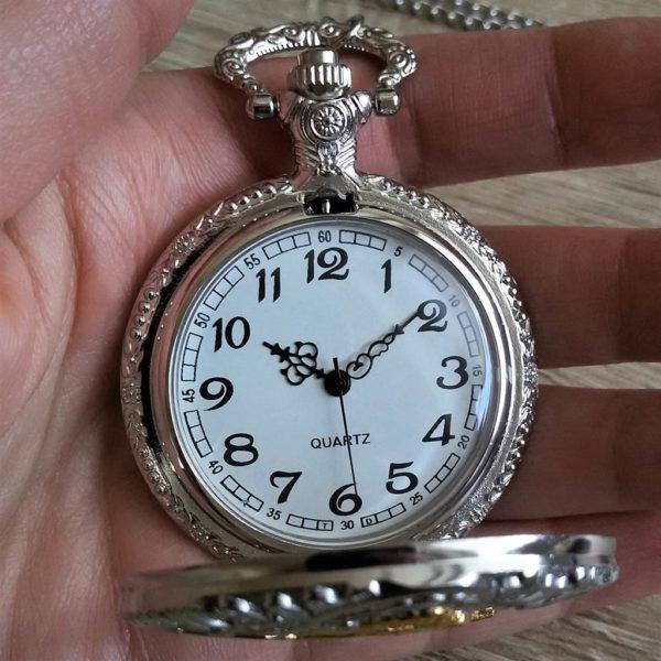 Vreckové hodinky LOKOMOTÍVA