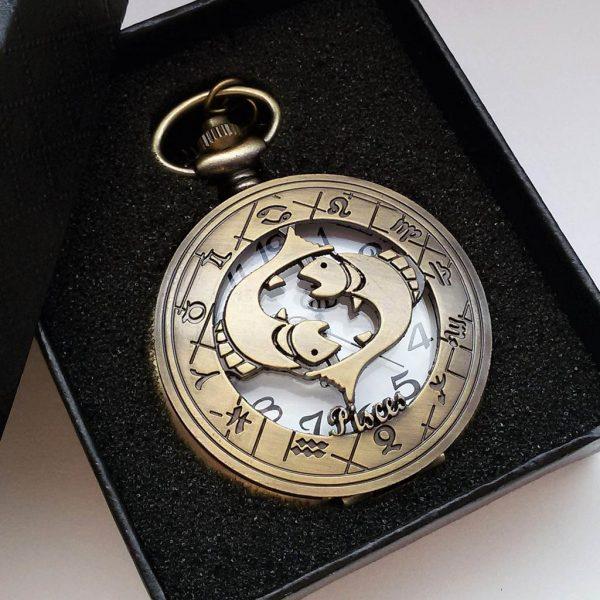 Vreckové hodinky RYBY