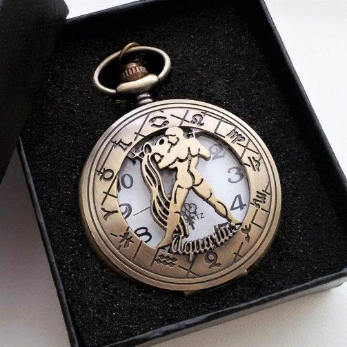 Vreckové hodinky VODNÁR