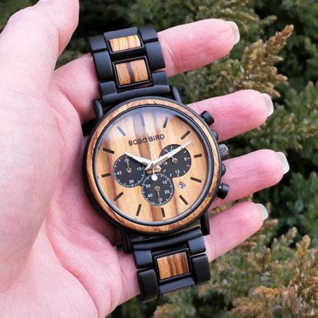 Drevené hodinky WILD