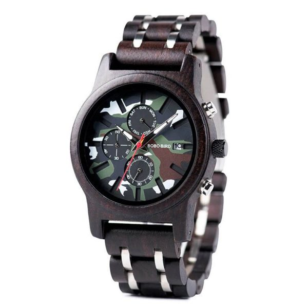 Drevené hodinky AMAZON