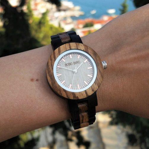 Drevené hodinky BONNIE