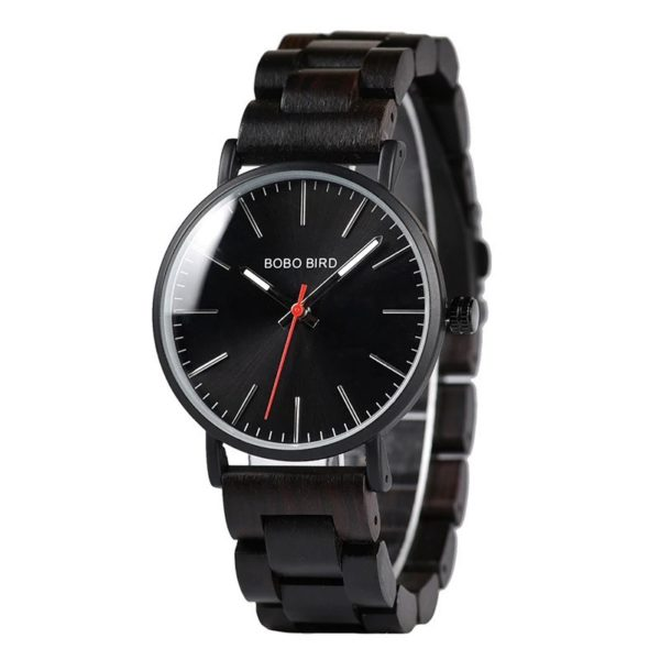 Drevené hodinky BOSS