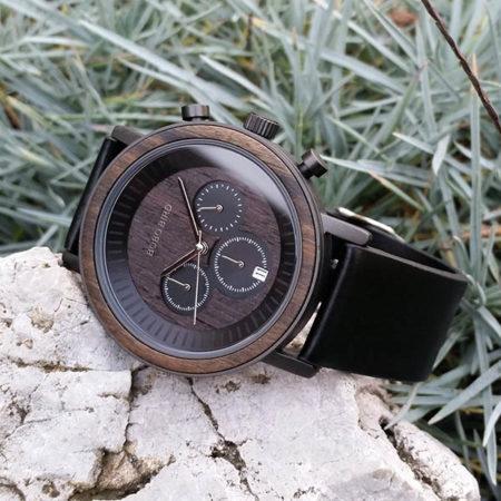 Drevené hodinky COAL