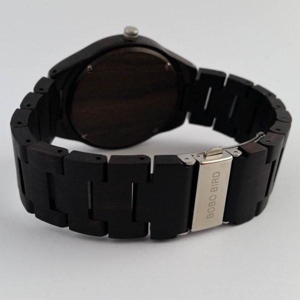 Drevené hodinky RETRO BLACK