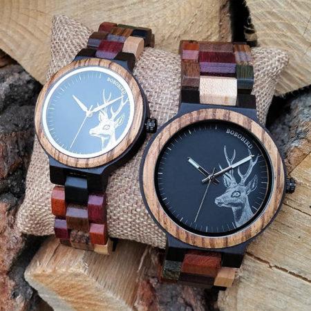 Drevené hodinky ROBIN & HOOD