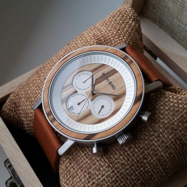 Drevené hodinky SAND