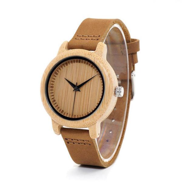Drevené hodinky TWO