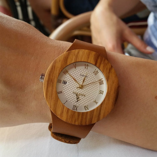 Drevené hodinky WESTERN