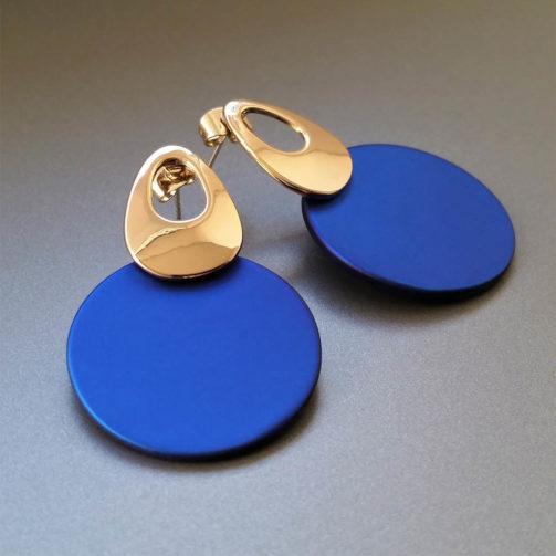 Náušnice ROYAL BLUE