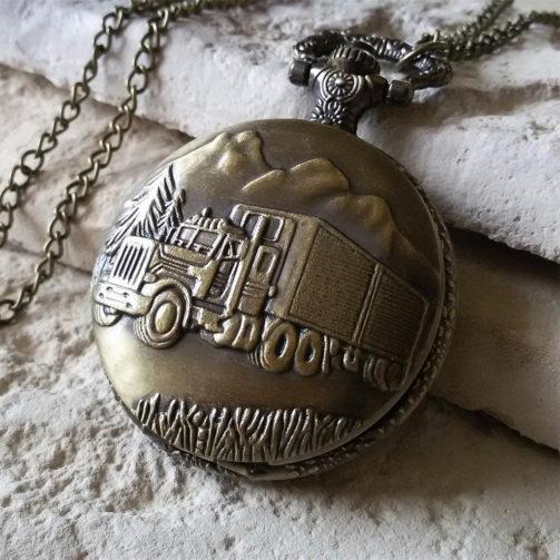 Vreckové hodinky KAMIONISTA