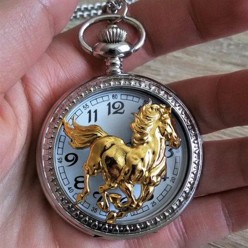 Vreckové hodinky KONÍK