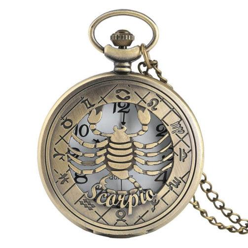 Vreckové hodinky ŠKORPIÓN