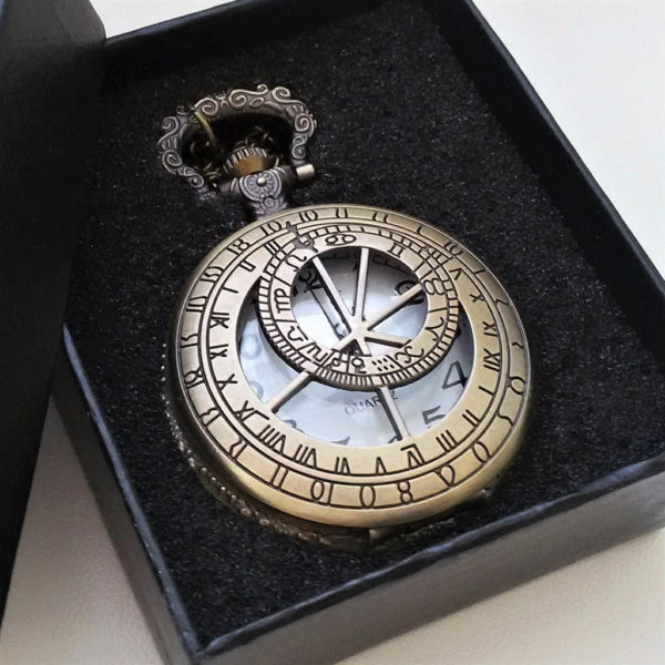 Vreckové hodinky SLNEČNÉ