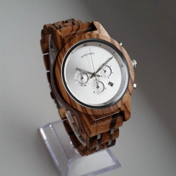 Drevené hodinky FROST