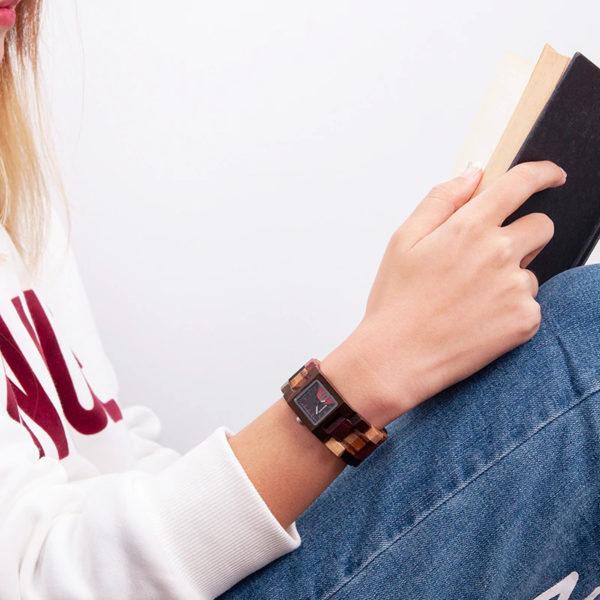 Drevené hodinky NINE