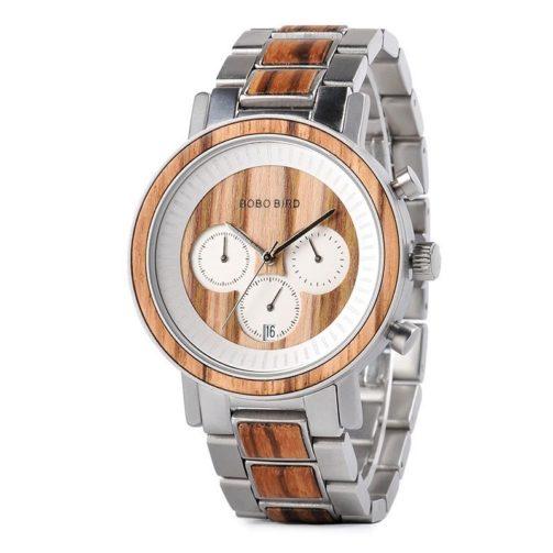 Drevené hodinky SAND STEEL