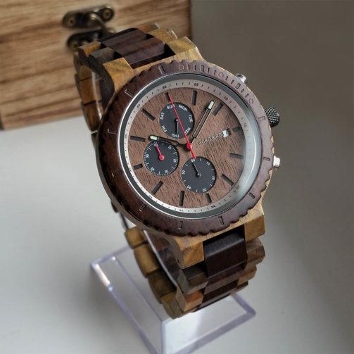 Drevené hodinky LORD