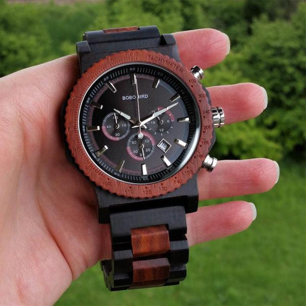 Drevené hodinky MASTER