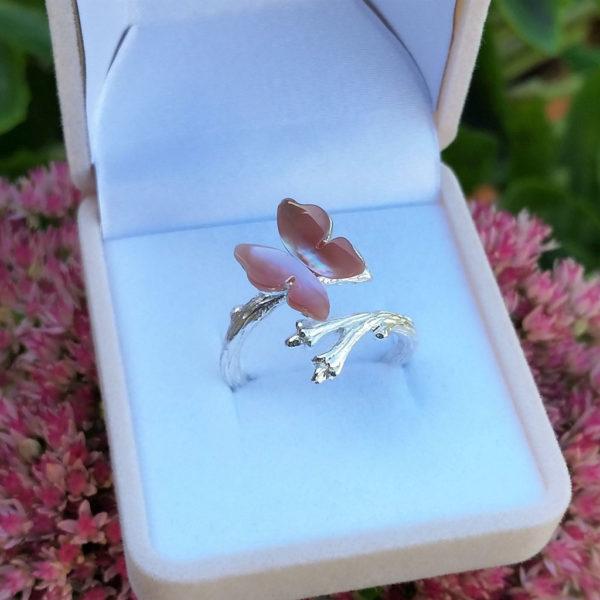 Strieborný prsteň Dokonalá krása