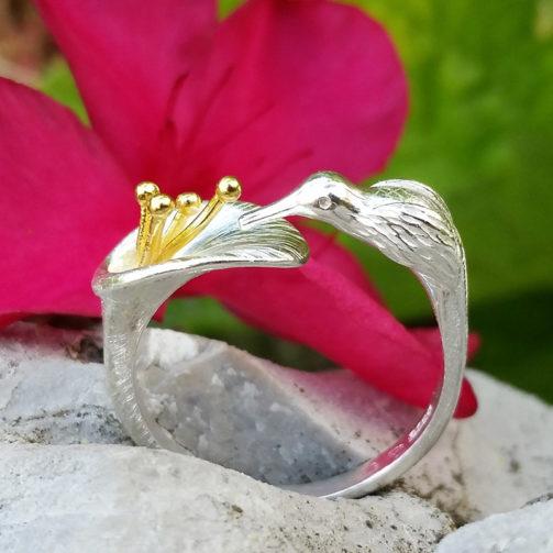 Strieborný prsteň Sladké pokušenie