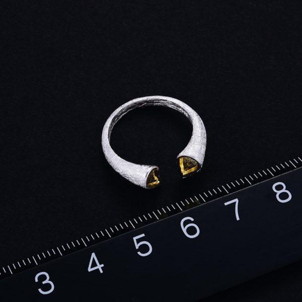 Strieborný prsteň Tajná láska