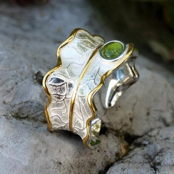 Strieborný prsteň Tajomstvo