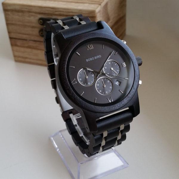 Pánske drevené hodinky JOE BLACK