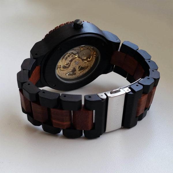 Mechanické drevené hodinky VICTORY