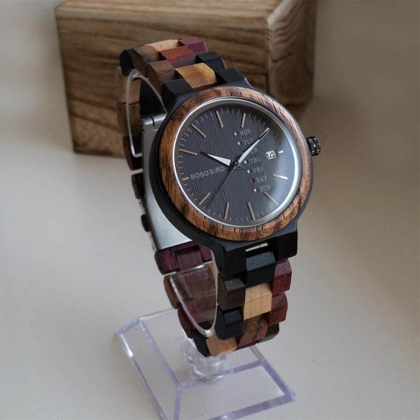 Drevené hodinky STREET