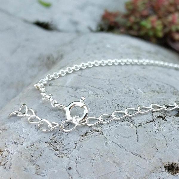 Strieborný náhrdelník retiazka zapínanie