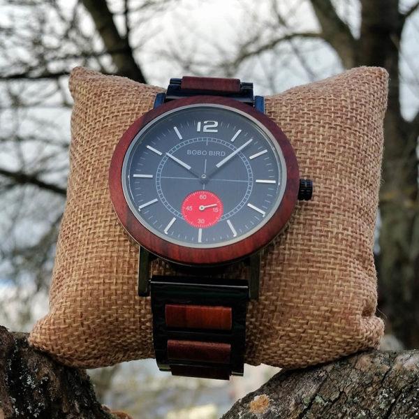 Drevené hodinky STORM