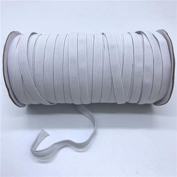 Guma prádlová biela 6 mm