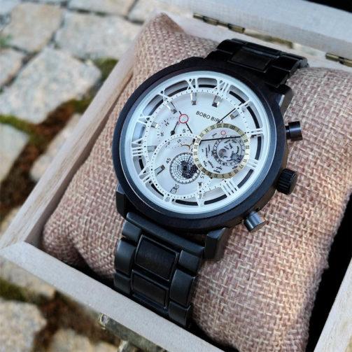 Drevené hodinky POLO