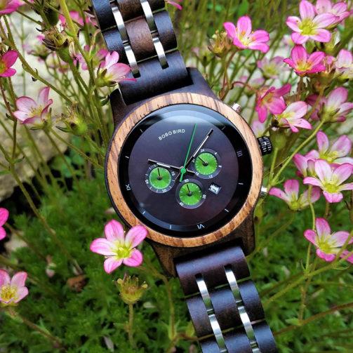 Drevené hodinky GALAXY
