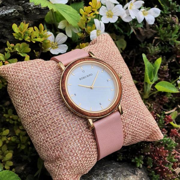 Drevené hodinky ROSE